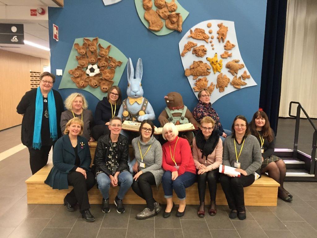 LASUC pedagogų mokymai Valtery mokymo ir konsultavimo centre Onerva (Suomijos Respublika)