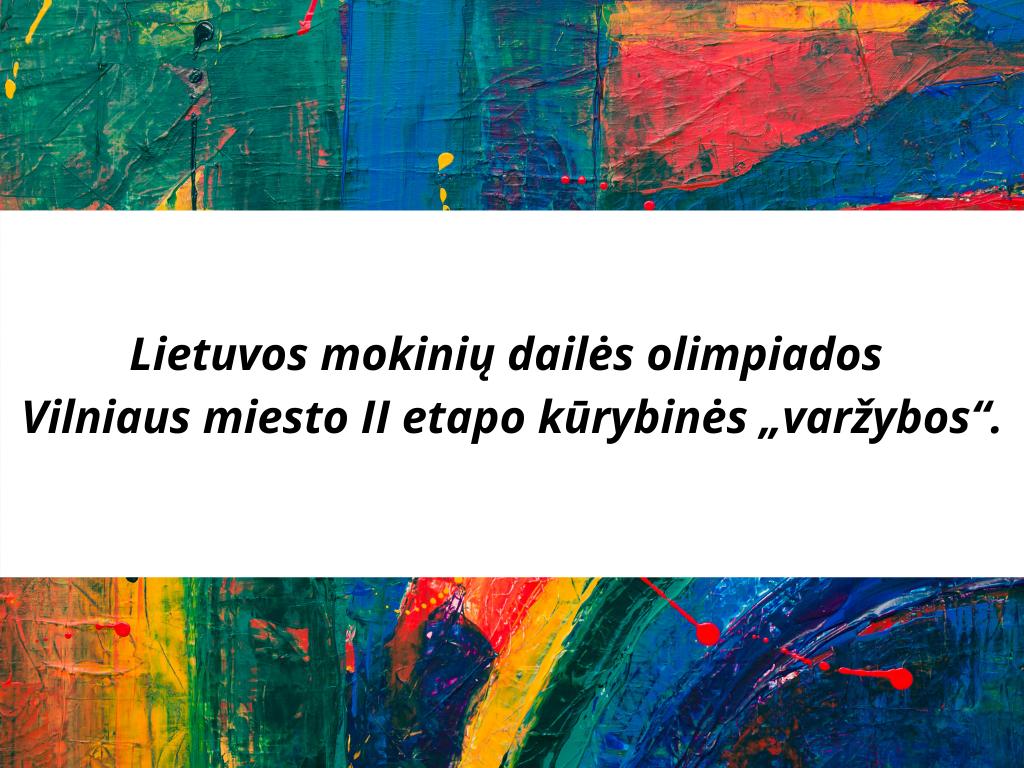 Lietuvos mokinių dailės olimpiada